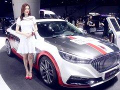 2018年广州车展车模图片 广州车展模特美女