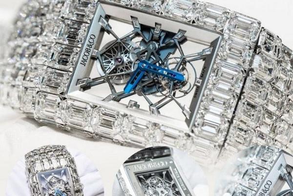 世界最贵的手表排行榜 格拉芙幻觉5500万美金(www.828i.com)