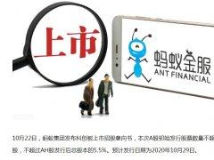 蚂蚁金服将在香港和科创板同时上市,估值2000亿美元