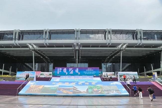 2021深圳品牌服装展览会圆满落幕,赣州服装展团大放异彩(www.828i.com)