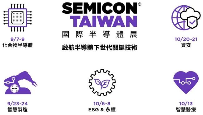 2021台湾半导体展览会SEMICON线上论坛9月起先行(www.828i.com)